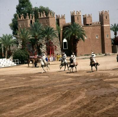 Marokko-Marrakesch Reiterspiele-1995