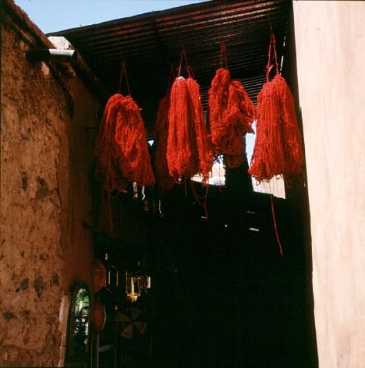 Marokko Marrakesch Webergassse 1995