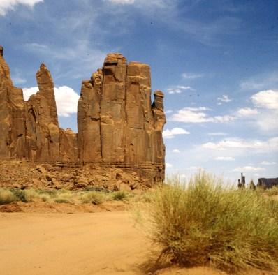 monument-valley-vor ende fahrsrecke