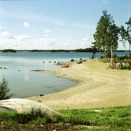 naevekvarn-Schweden sind in Urlaub