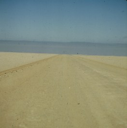 Namibia - vor Skelettküste 1987