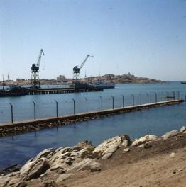 namibia-Lüderitzbucht Hafen 1987