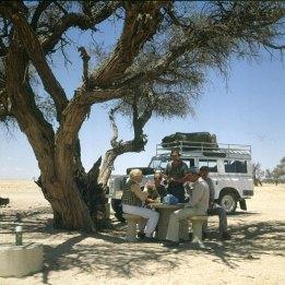 Namibia Svakopmund Beginn Sossusvleifahrt 1987