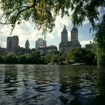 new-york-Teich im südlichen Centralpark 1983