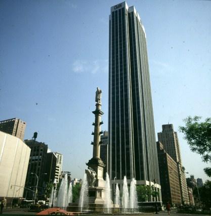 new-york-Columbus Circle Centralpark SW-Ecke 1988