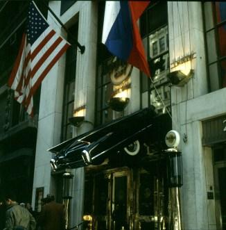 new-york-Hardrock Caffee mit Zeichen des Zeitgeistes 1994