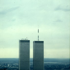 new-york-WTC Türme Sichtwinkel der Terroristen 1983