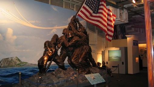 new-york-Denkmal für Iwo Yima Eroberung 2003