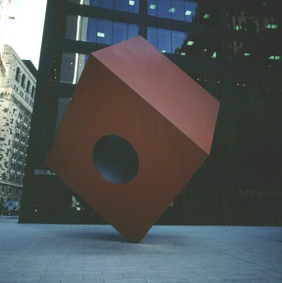new-york-Japanerplastik Nähe WTC 1988