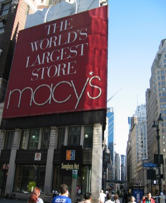 new-york-Macys - größtes Kaufhaus der Welt