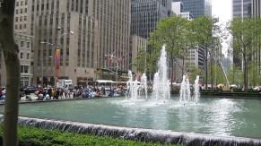 new-york-Großzügige Freianlagen Nähe Hilton 2003