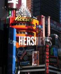new-york-Timessquare mit neuen Farben 2003
