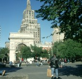 new-york-Washington Square Studentenzentrum 1994