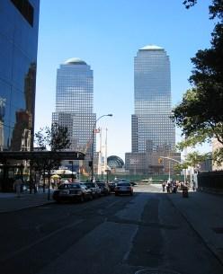 new-york-Freier Durchblick am WTC 2003