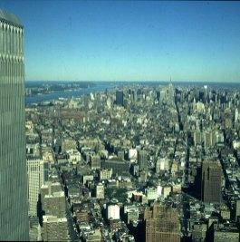new-york-WTC-Blick zum Hudsonriver 1983