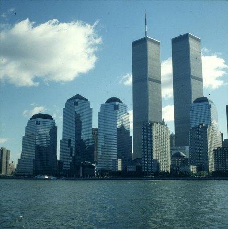 new-york-WTC und Financial Center 1983