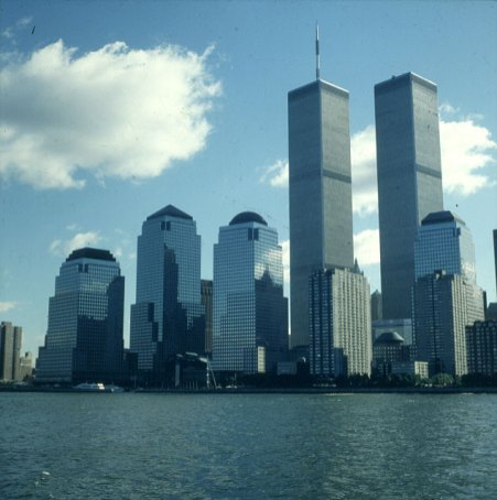 new-york-WTC und Financial Center 1983