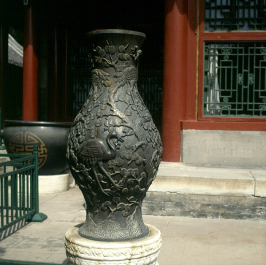 Peking- Bronzevase 2000