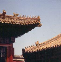 Peking-Kaisepalast-Giebeldrachen 2000