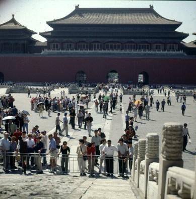 Peking-Kaiserpalast-1.Hof-2000