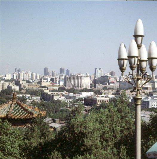 Peking-Kaiserpalast-Cityblick 2000