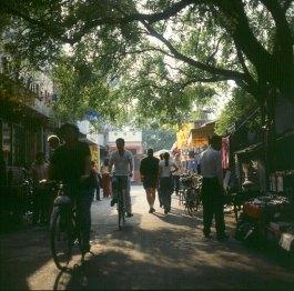 Peking-altes Wohnviertel 2000