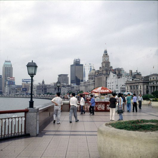 Shanghai-alte Promenade 2000