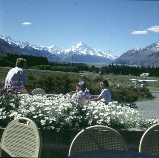 neuseeland-Mt.Cook Flugplatz 2001