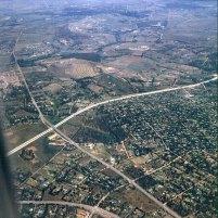 suedafrika Anflug auf Johannisburg 1980
