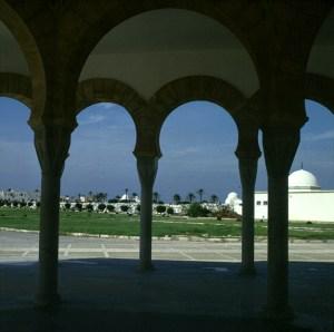 Tunesien Monastir Bourgiba Mausoleum 1980