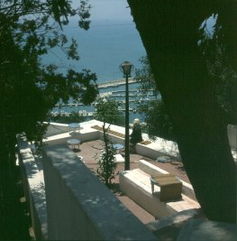 Tuniesien Caffee in Sidi Bou Said 1980