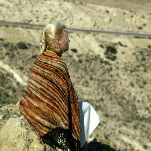 Tuniesien Gerda in Matmatawüste 1980