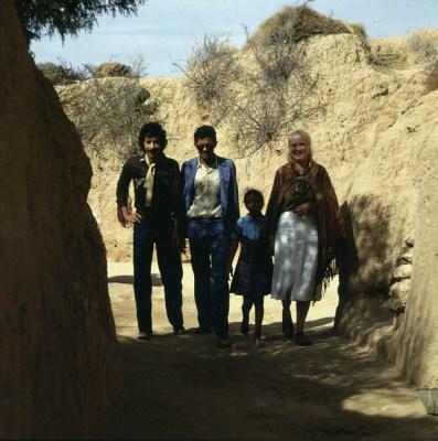 Tunesien mit Freunden in Matmata 1980