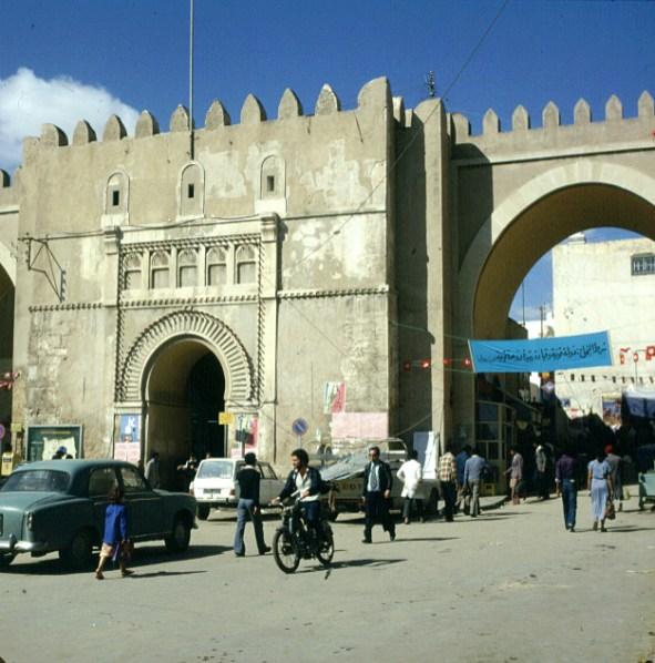 Tuniesien Stadttor Sfax 1980