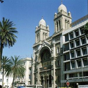 tunesien-Tunis Av.Bourgiba 1980