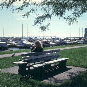 vermont-kingston warten auf Boot