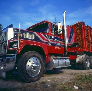 vermont-truck für Transport nach Kanada