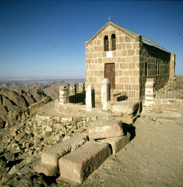 aegypten-sinai-horeb-kapelle 1981