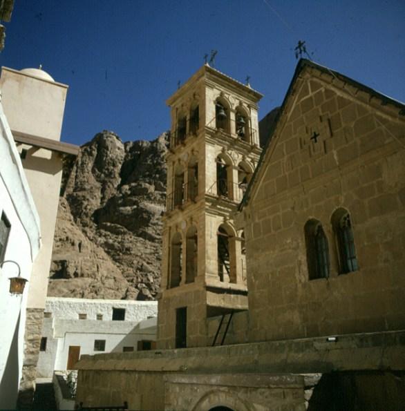 aegypten-sinai-kloster-kirche 1981