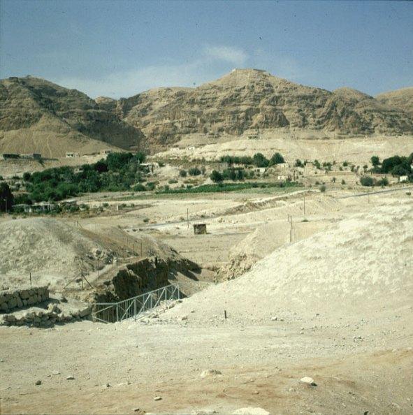 Judäa-jericho-älteste Mauern