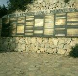 Jerusalem-Spenderplaketten