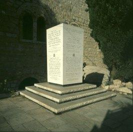 Jerusalem-Bergen-Belsen-Denkmal