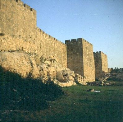 Jerusalem-Stadtmauer-