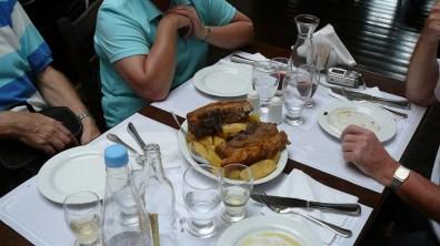 kreta-frugales Mittagessen