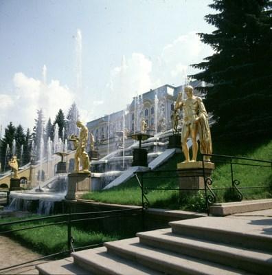 Leningrad-schloss-peterhof-Zentrum