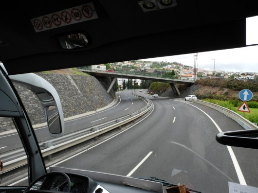Traumschiff-Madeira-Zufahrt Funchal 2012