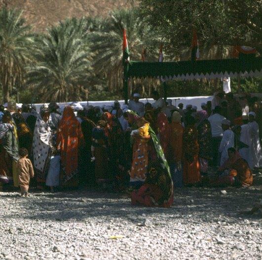 oman-oasen fest -frauengruppe 1989