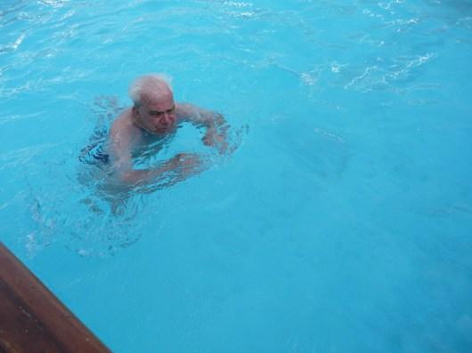 Traumschiff Irvin Schwimmversuch