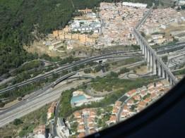 Anflug nach Lissabon