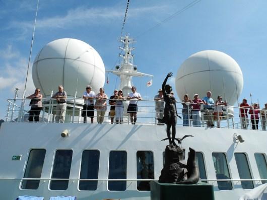Traumschiff Lissabon Auslauf 2012